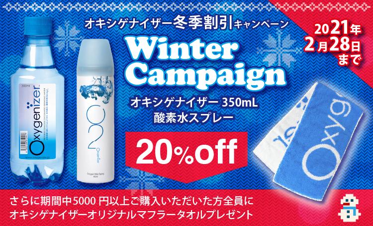 2020冬季キャンペーンバナー
